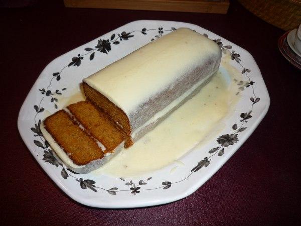 Mon premier carrot cake
