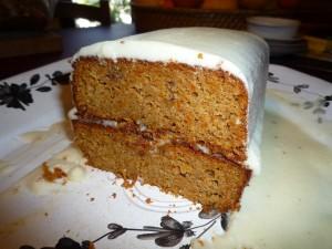 Mon premier carrot cake (detail)