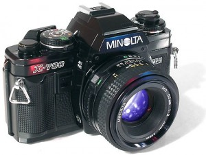 Le meilleur et dernier reflex manuel de Minolta, le X700