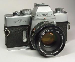 Mon premier reflex : Minolta srt101b
