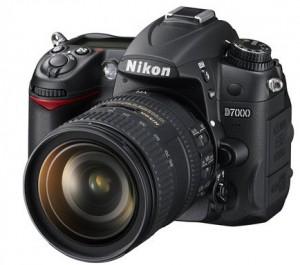Le Nikon D7000 de face
