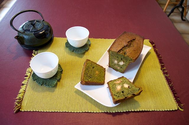 Version avec demis-carrés à l'heure de thé