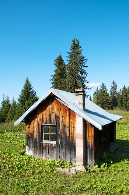 Le joli petit refuge de Pierre-Larron.