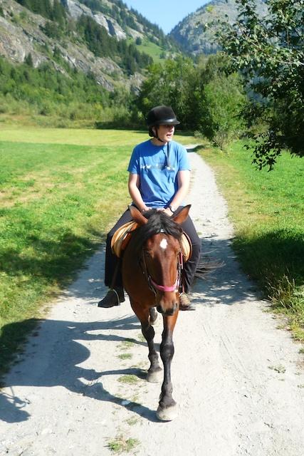 Gwendal, promenade à cheval.